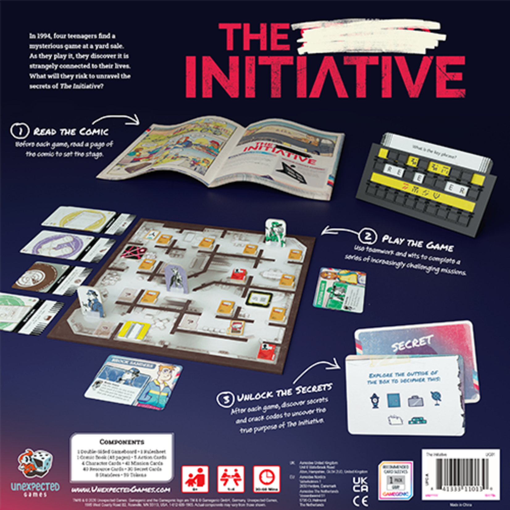 Unexpected Games The Initiative