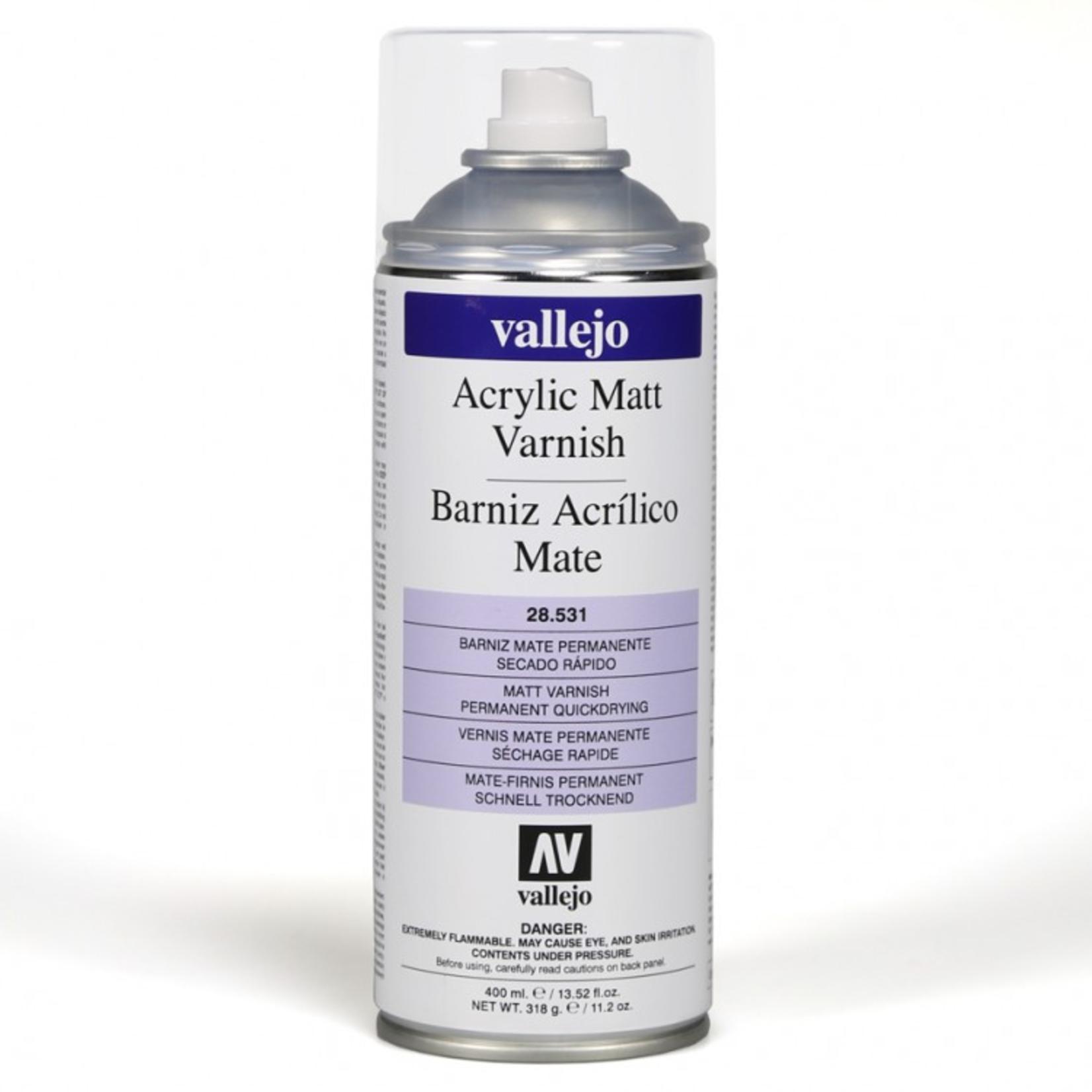 Vallejo Paint Spray Matt Varnish (400 ml.) (VJP)