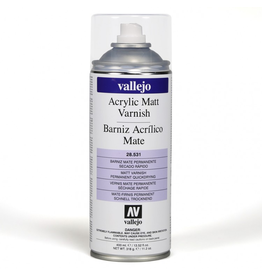 Vallejo Paint Spray Matt Varnish (400 ml.) (VJP)