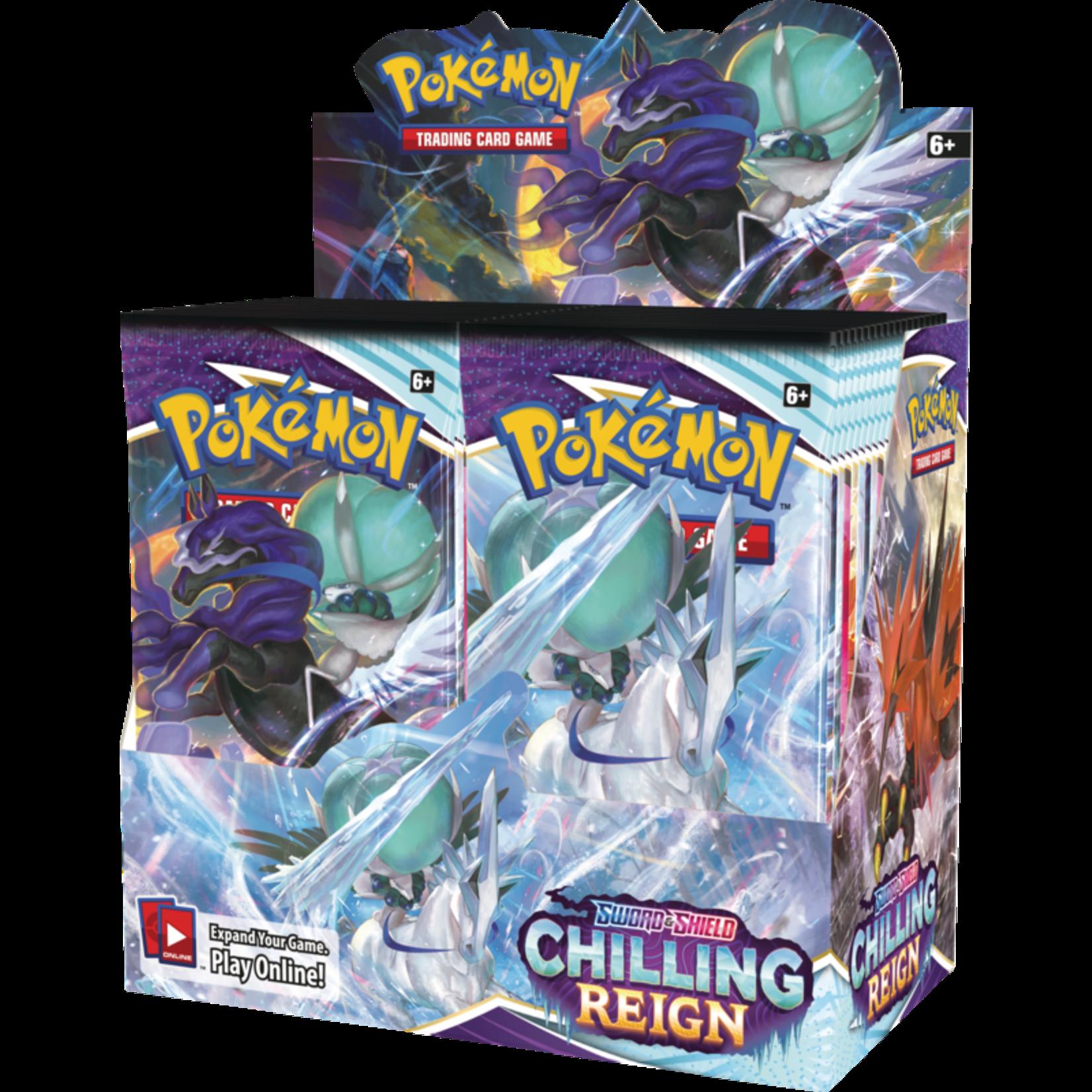 Pokémon Pokémon TCG: Sword & Shield—Chilling Reign Booster Box