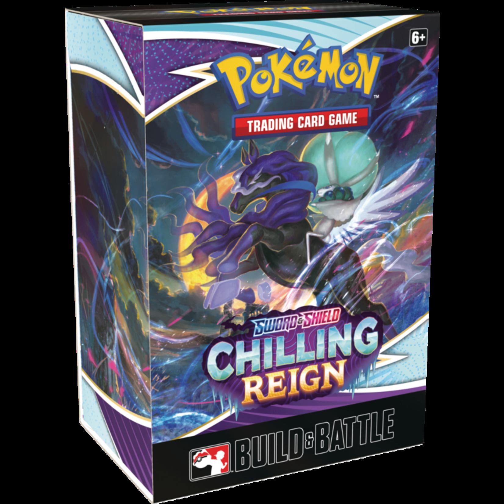 Pokémon Pokémon TCG: Sword & Shield—Chilling Reign Build & Battle Box
