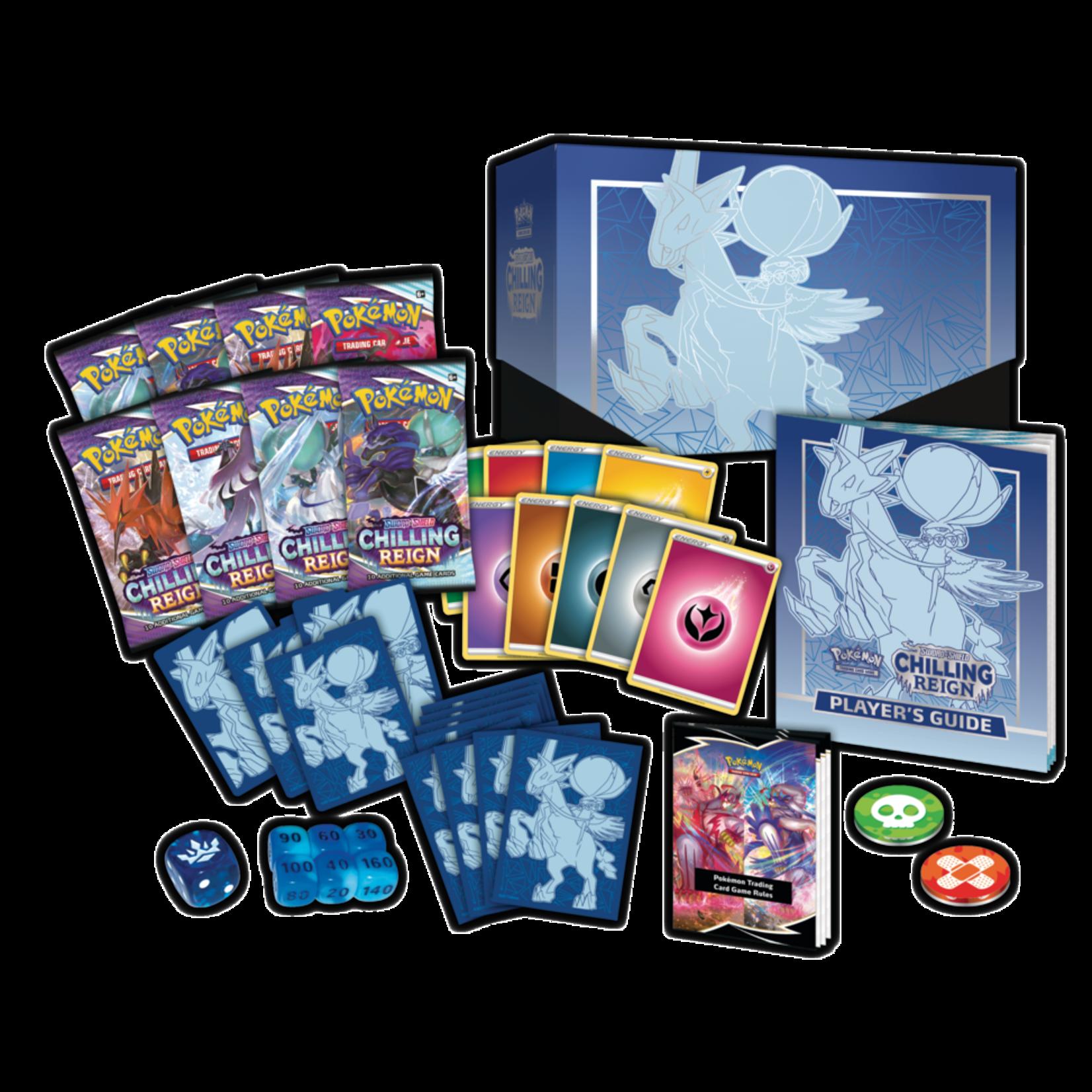 Pokémon Pokémon TCG: Sword & Shield—Chilling Reign Elite Trainer Box
