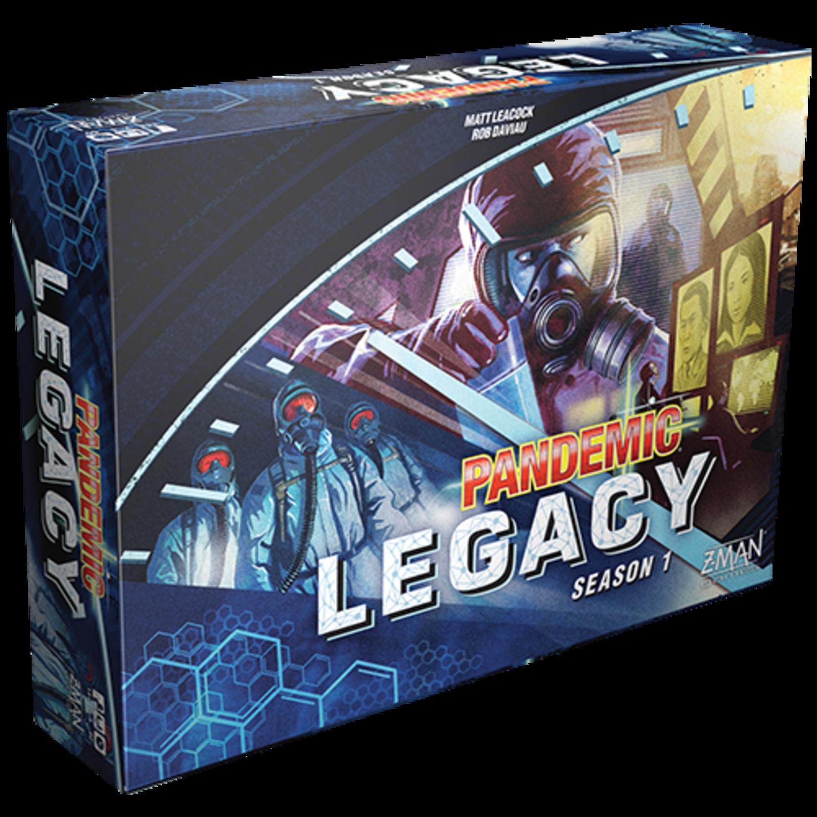 Z-MAN Games Pandemic Legacy: Season 1 (Blue Edition)