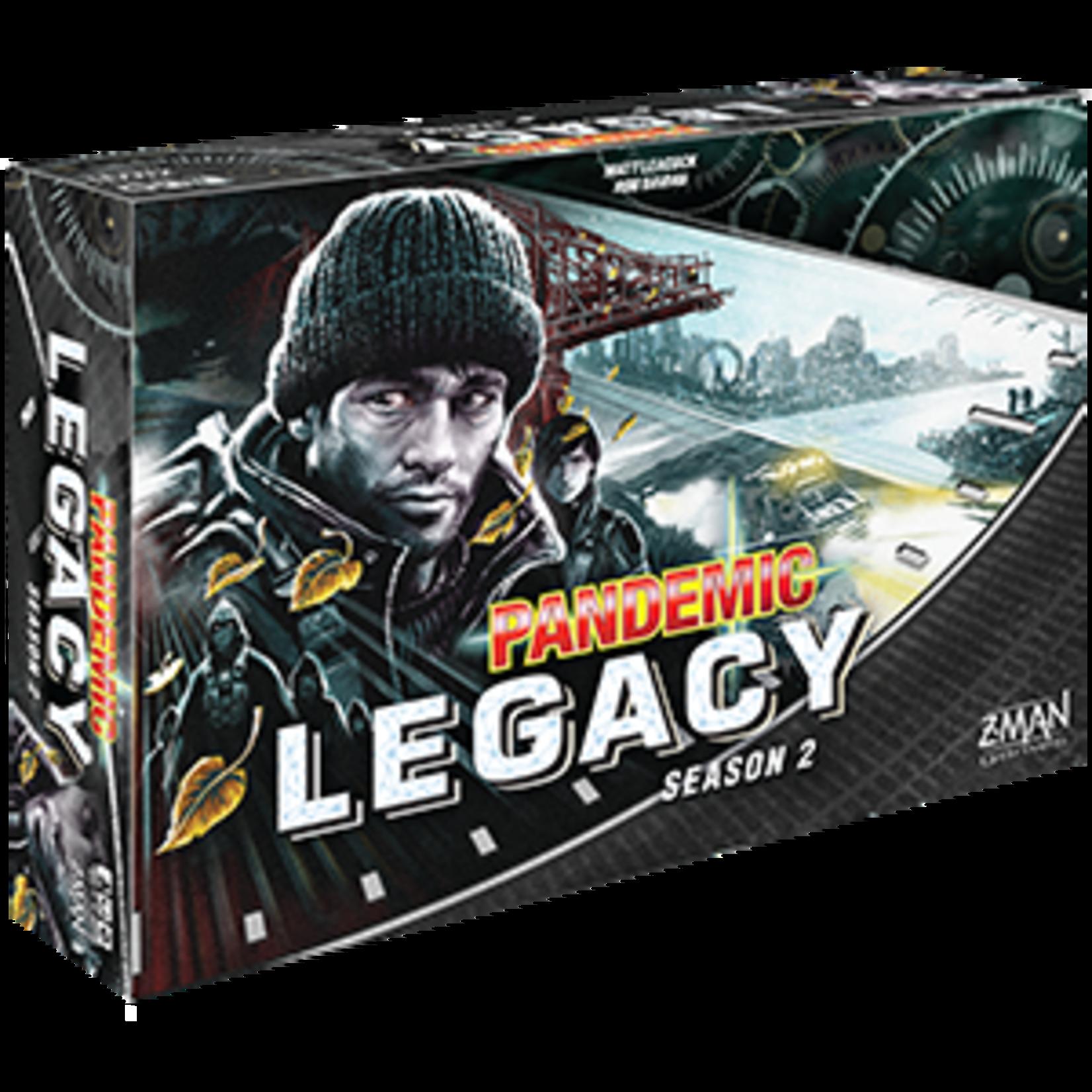 Z-MAN Games Pandemic Legacy: Season 2 (Black Edition)