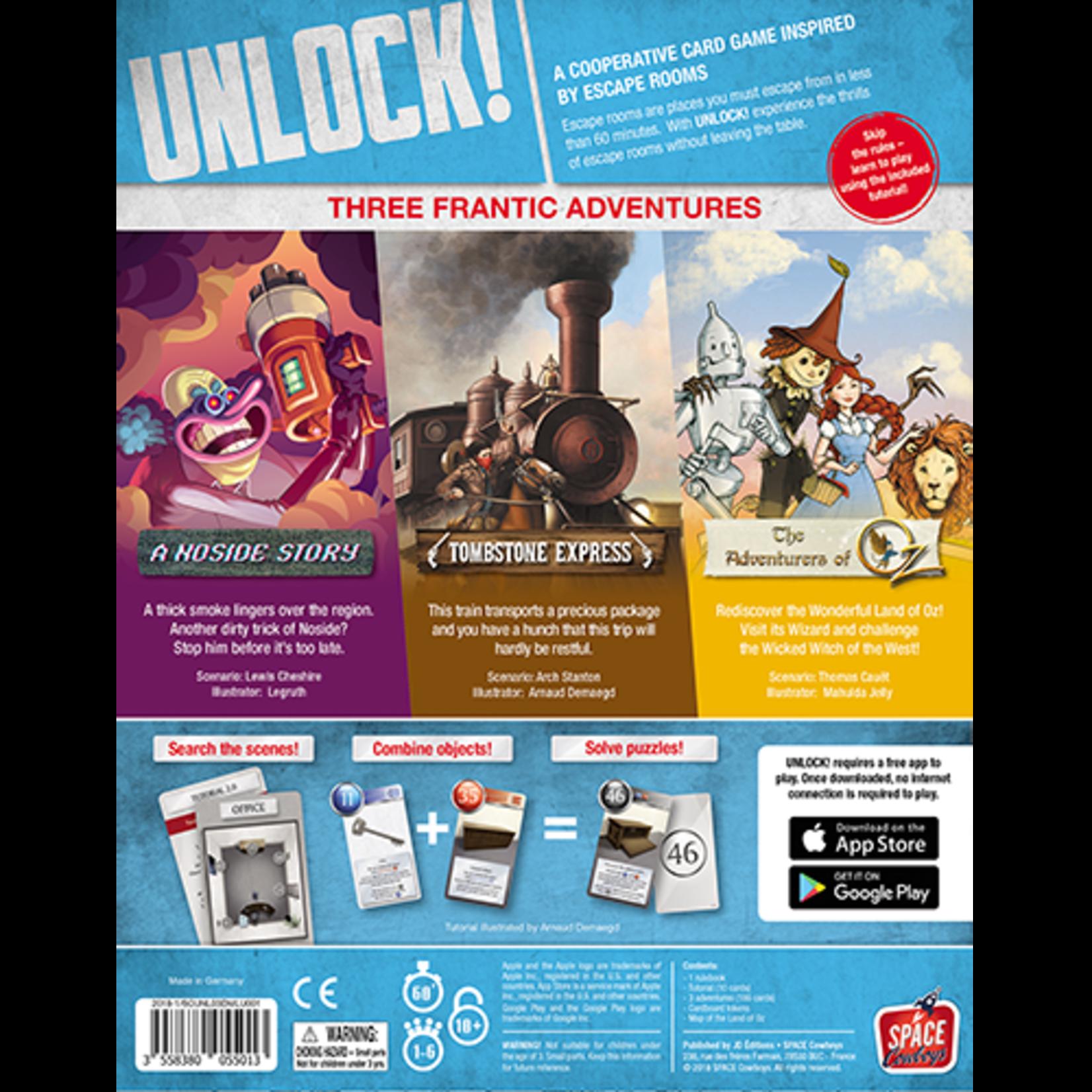 Space Cowboys UNLOCK! Secret Adventures