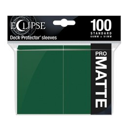 Ultra Pro Eclipse Matte Standard Sleeves: Forest Green (100)