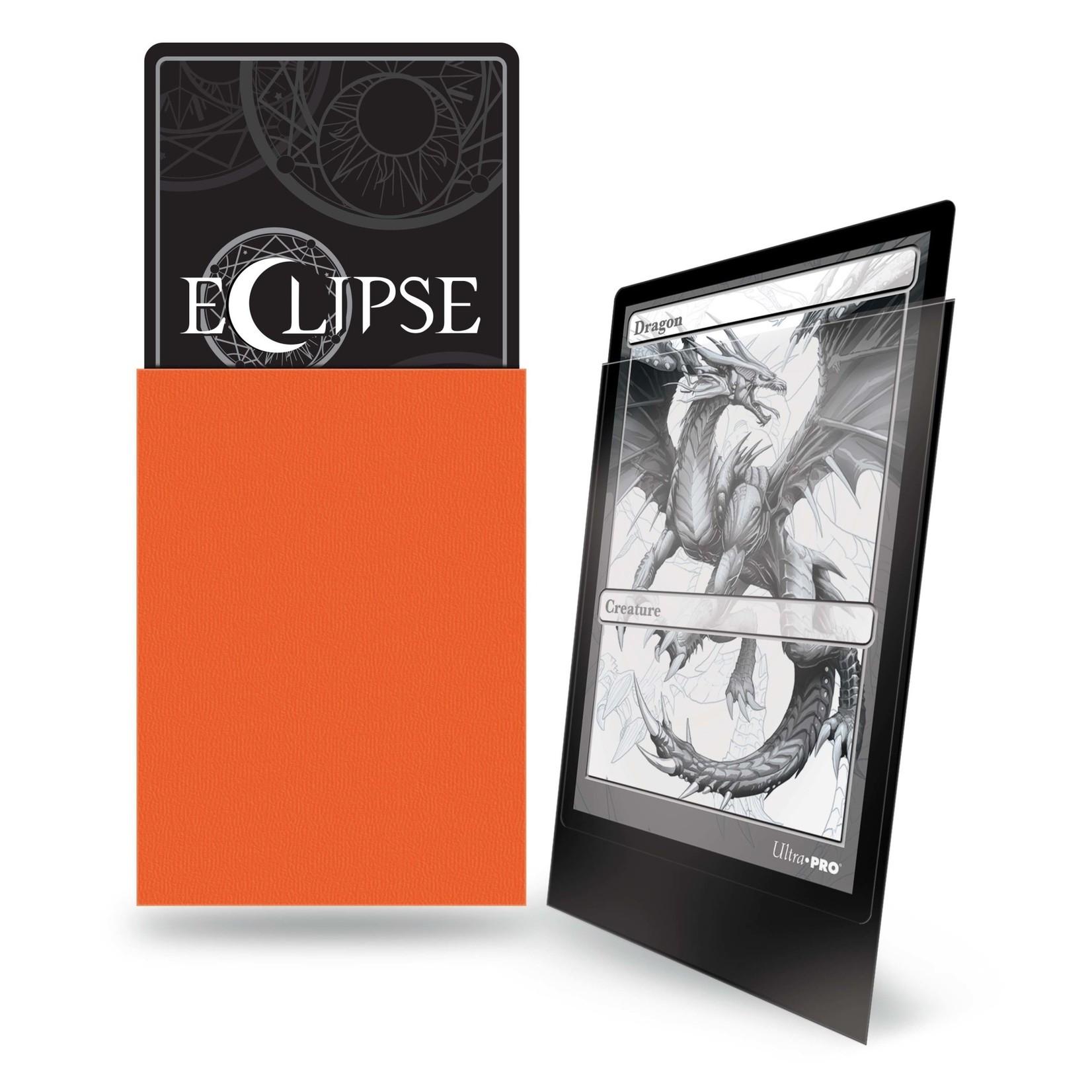 Ultra Pro Eclipse Matte Standard Sleeves: Pumpkin Orange (100)