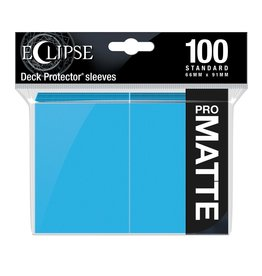 Ultra Pro Eclipse Matte Standard Sleeves: Sky Blue (100)