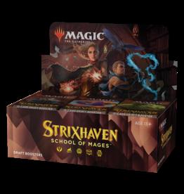 Magic: The Gathering MTG Strixhaven Draft Booster Box