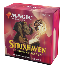Magic: The Gathering MTG Strixhaven Prerelease Pack - Lorehold (RW) + 2 Free Boosters
