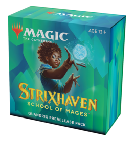 Magic: The Gathering MTG Strixhaven Prerelease Pack - Quandrix (GU) + 2 Free Boosters