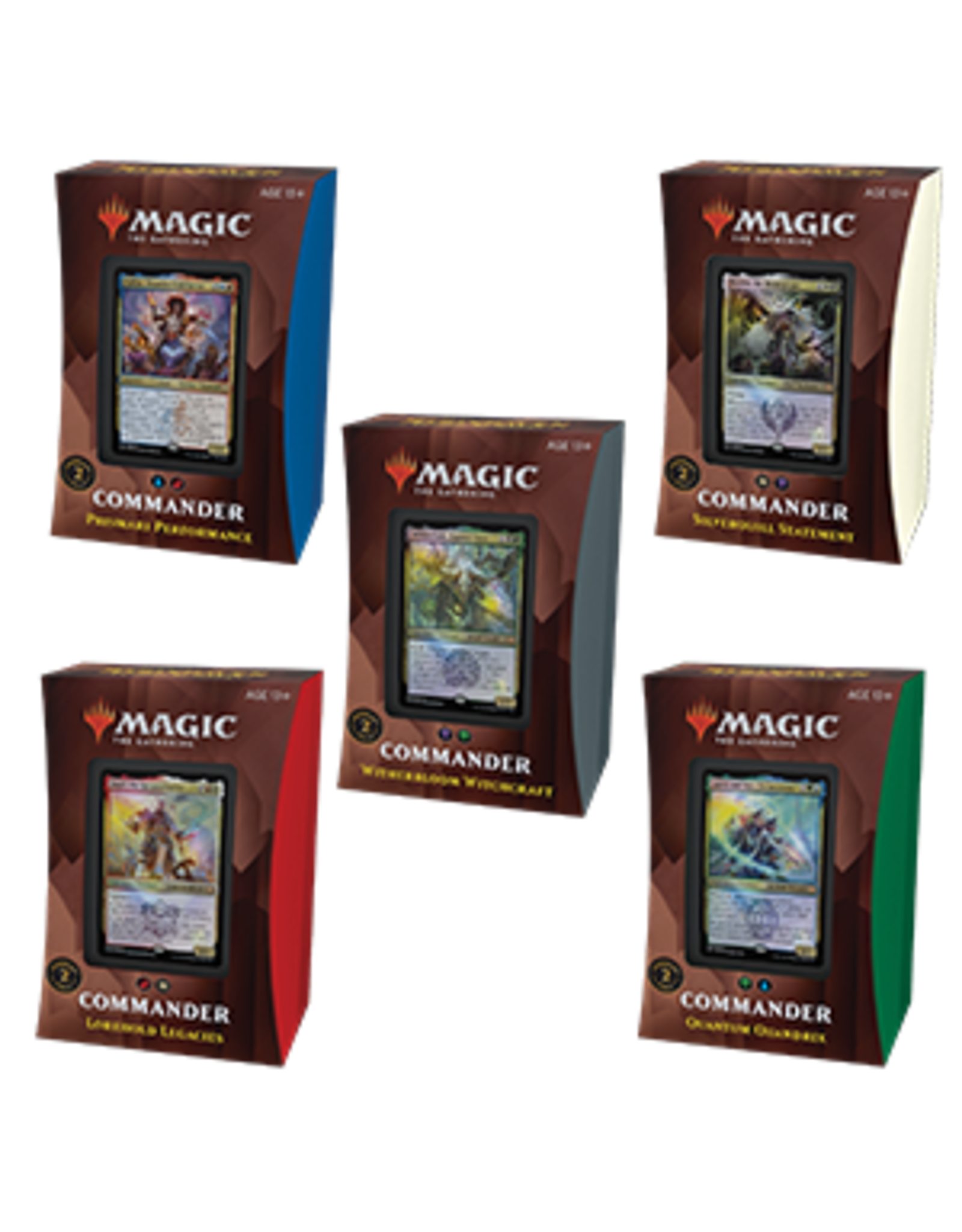 Magic: The Gathering Magic: The Gathering - Strixhaven: School of Mages - Commander Deck Display