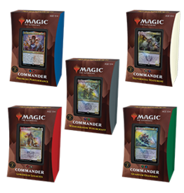 Magic: The Gathering MTG Strixhaven Commander Deck Display