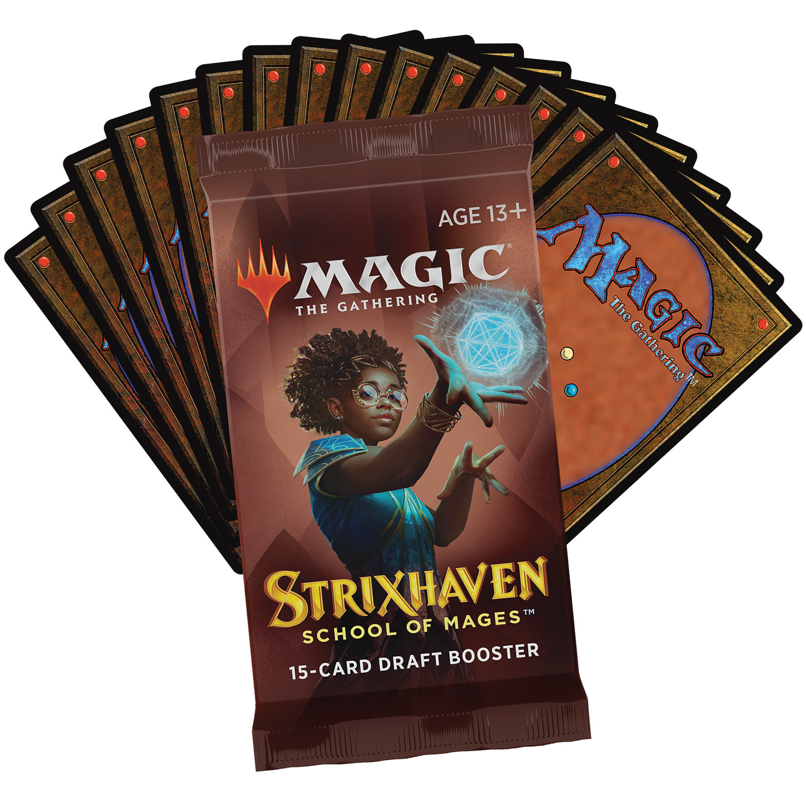 Magic: The Gathering Magic: The Gathering - Strixhaven: School of Mages - Draft Booster Box
