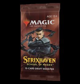 Magic: The Gathering MTG Strixhaven Draft Booster Pack