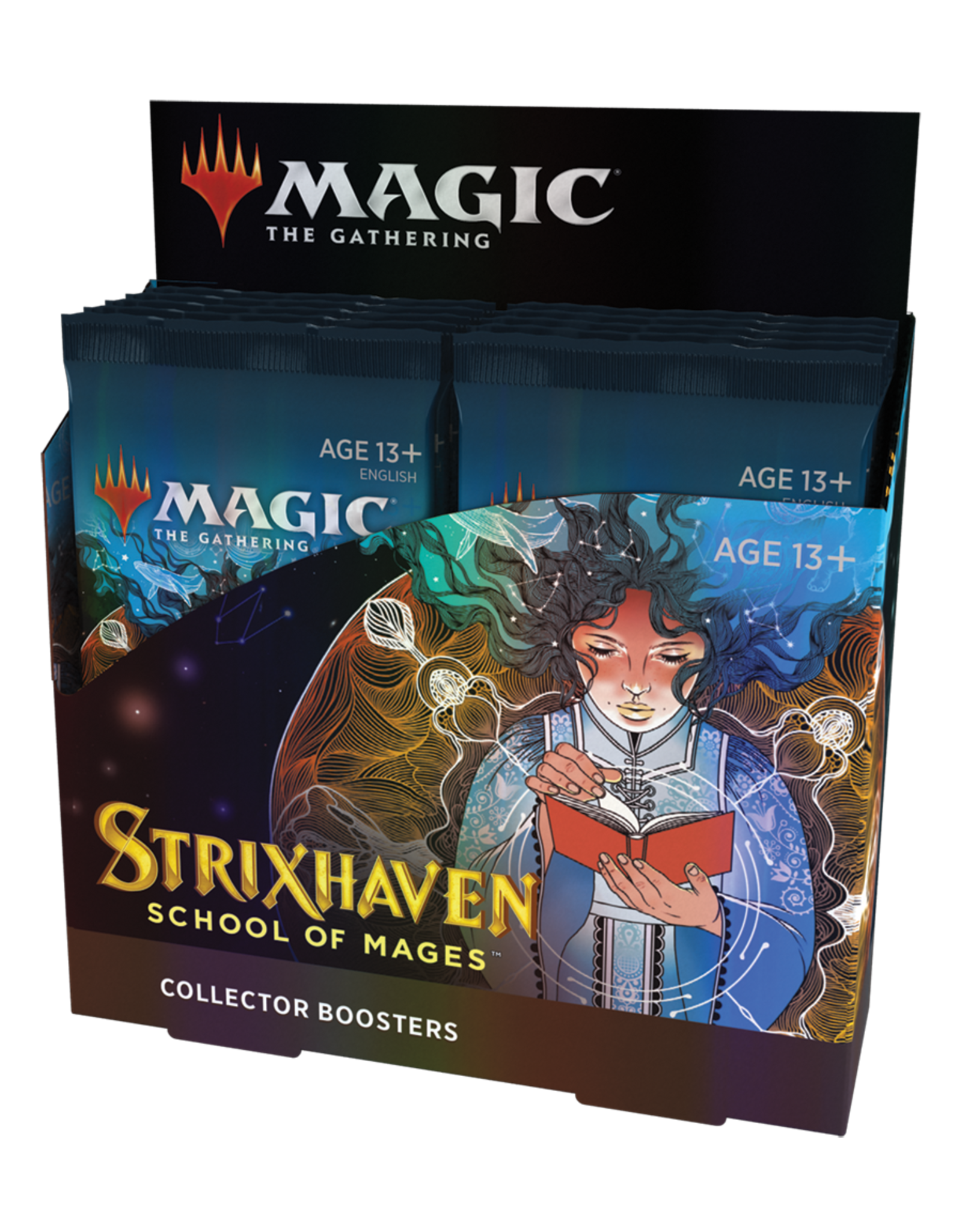 Magic: The Gathering Magic: The Gathering - Strixhaven: School of Mages - Collector Booster Box