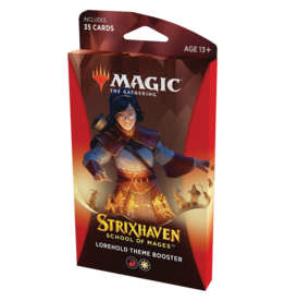 Magic: The Gathering MTG Strixhaven Theme Booster Pack - Lorehold (RW)
