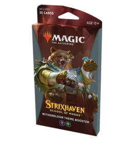 Magic: The Gathering MTG Strixhaven Theme Booster Pack - Witherbloom (BG)