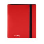 Ultra Pro Ultra Pro Eclipse: 4-Pocket Binder (Apple Red)