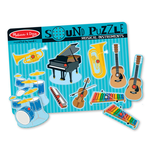 Melissa and Doug Musical Instrument Sound Puzzle 8p