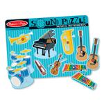 Melissa and Doug Musical Instrument Sound Puzzle 8p