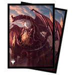 Ultra Pro Magic: The Gathering Strixhaven Velomachus Lorehold Deck Protectors (100ct.)
