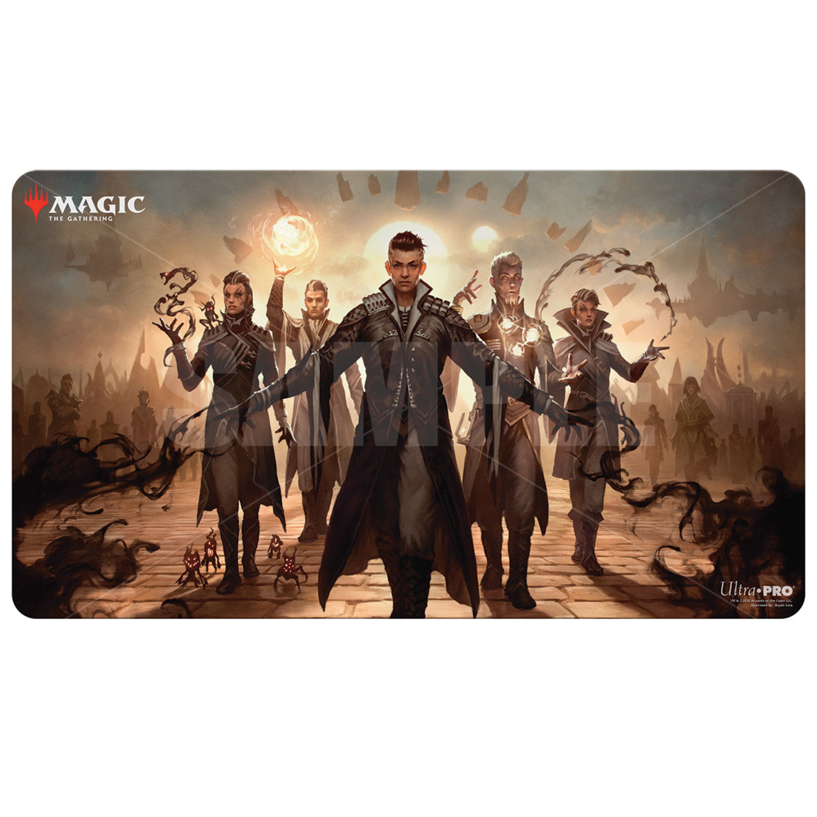 Ultra Pro Magic: The Gathering Strixhaven Silverquill Command Playmat