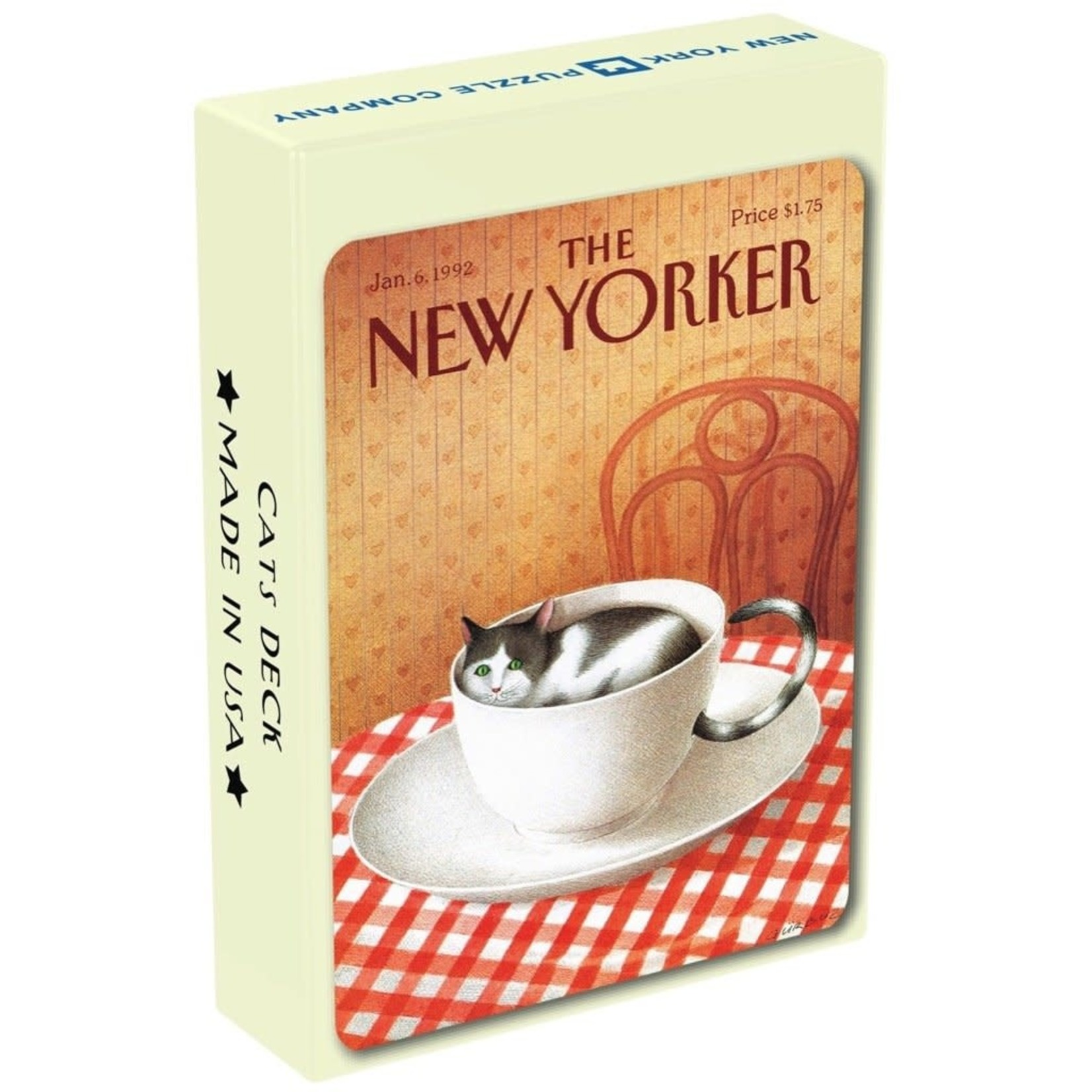New York Puzzle Company The New Yorker Cards: Cat Cartoons