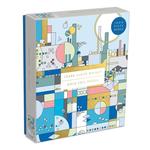 Galison Frank Lloyd Wright - City by the Sea Foil  - 1000 Piece Jigsaw Puzzle