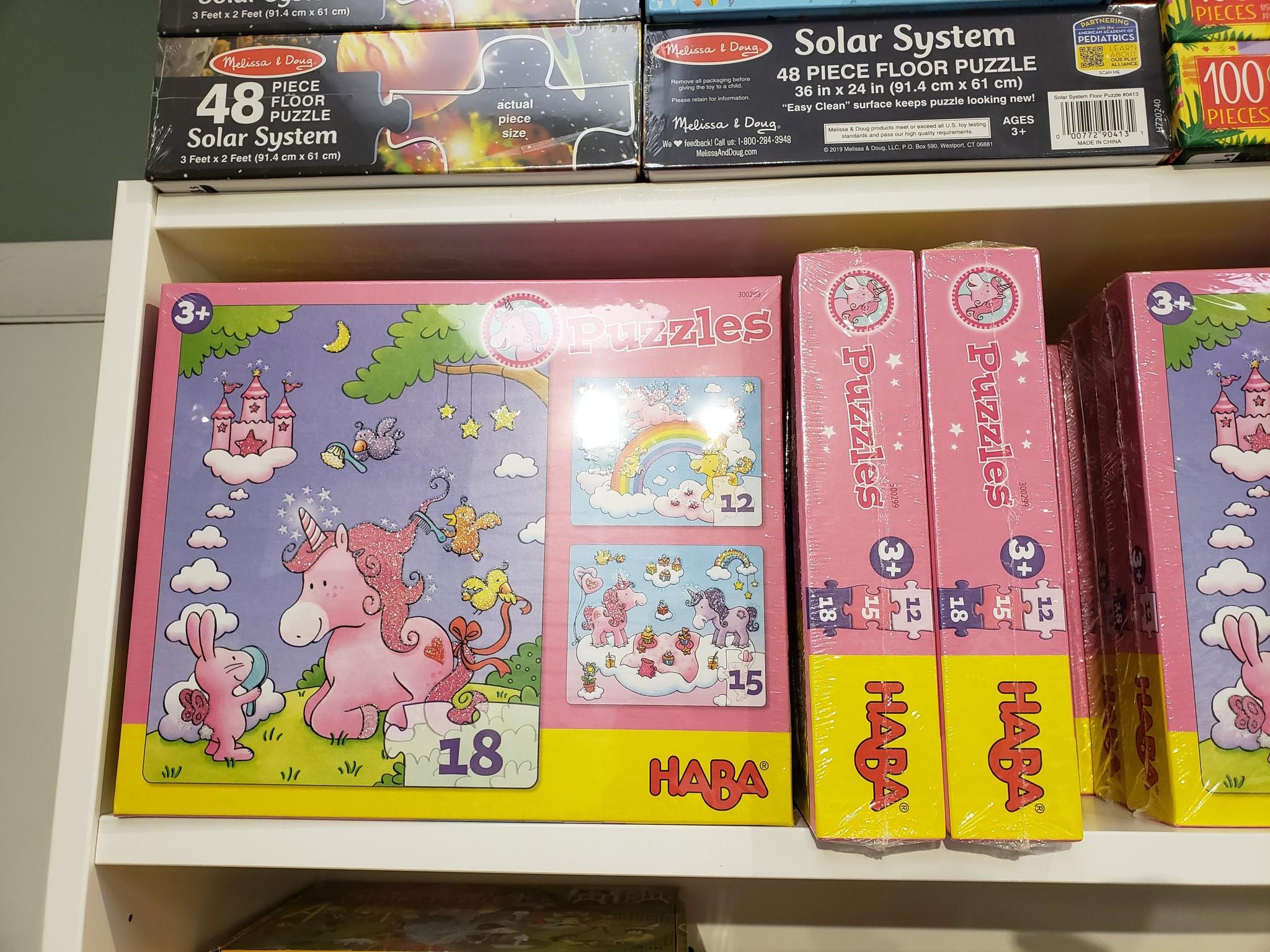 Unicorn Glitterluck 3 Puzzle