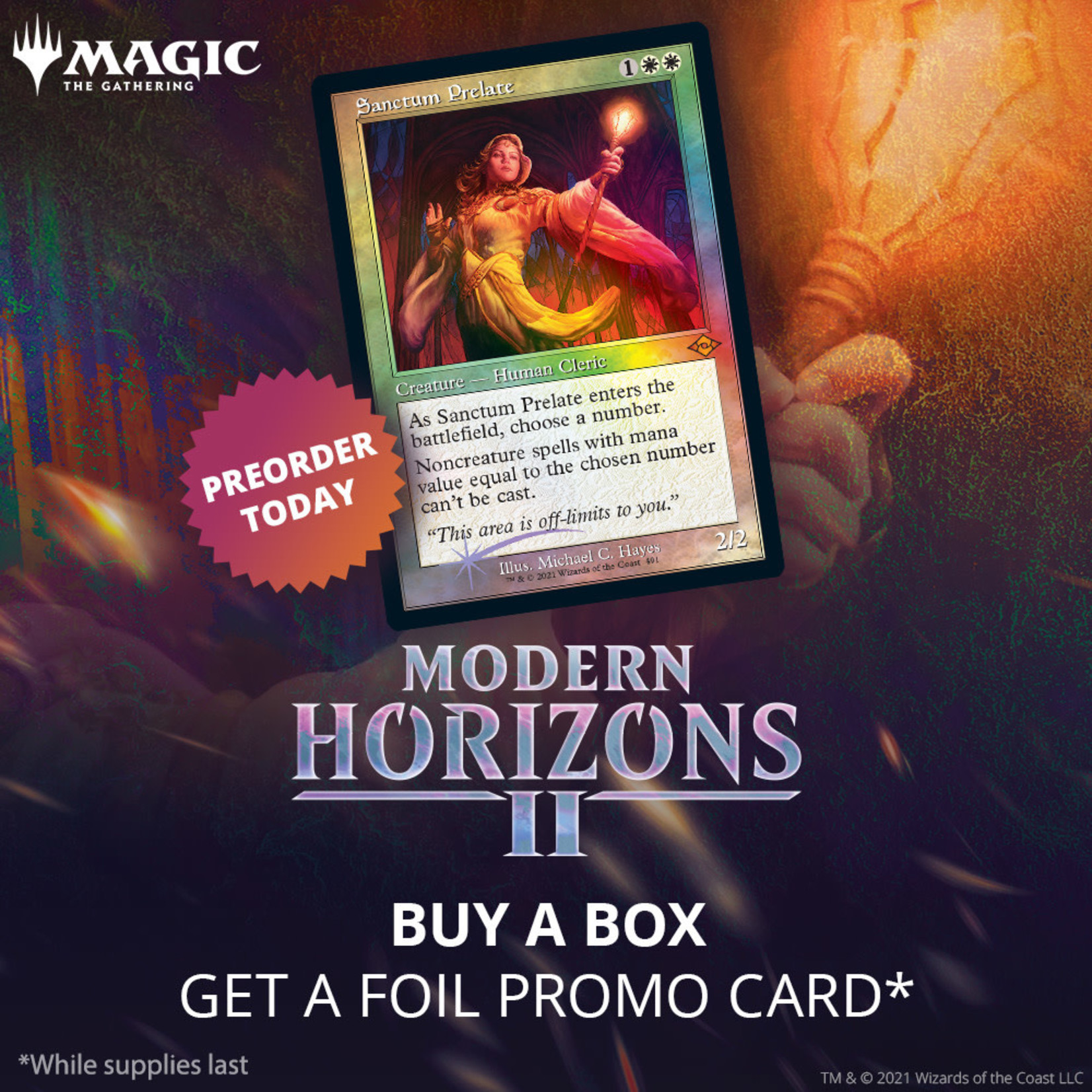 Magic: The Gathering Magic: The Gathering - Modern Horizons 2 - Collector Booster Box