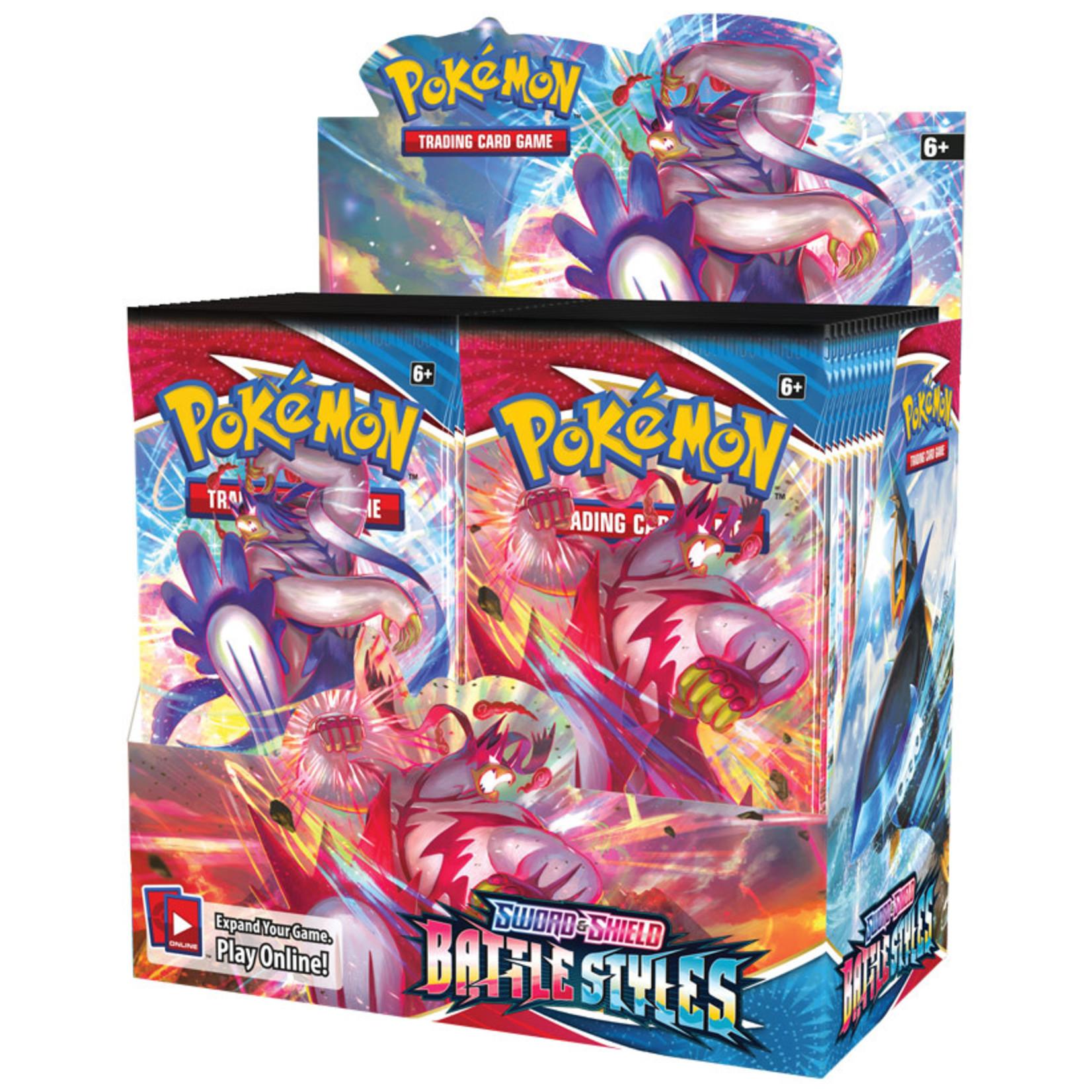 Pokémon Pokémon TCG: Sword & Shield—Battle Styles Booster Box