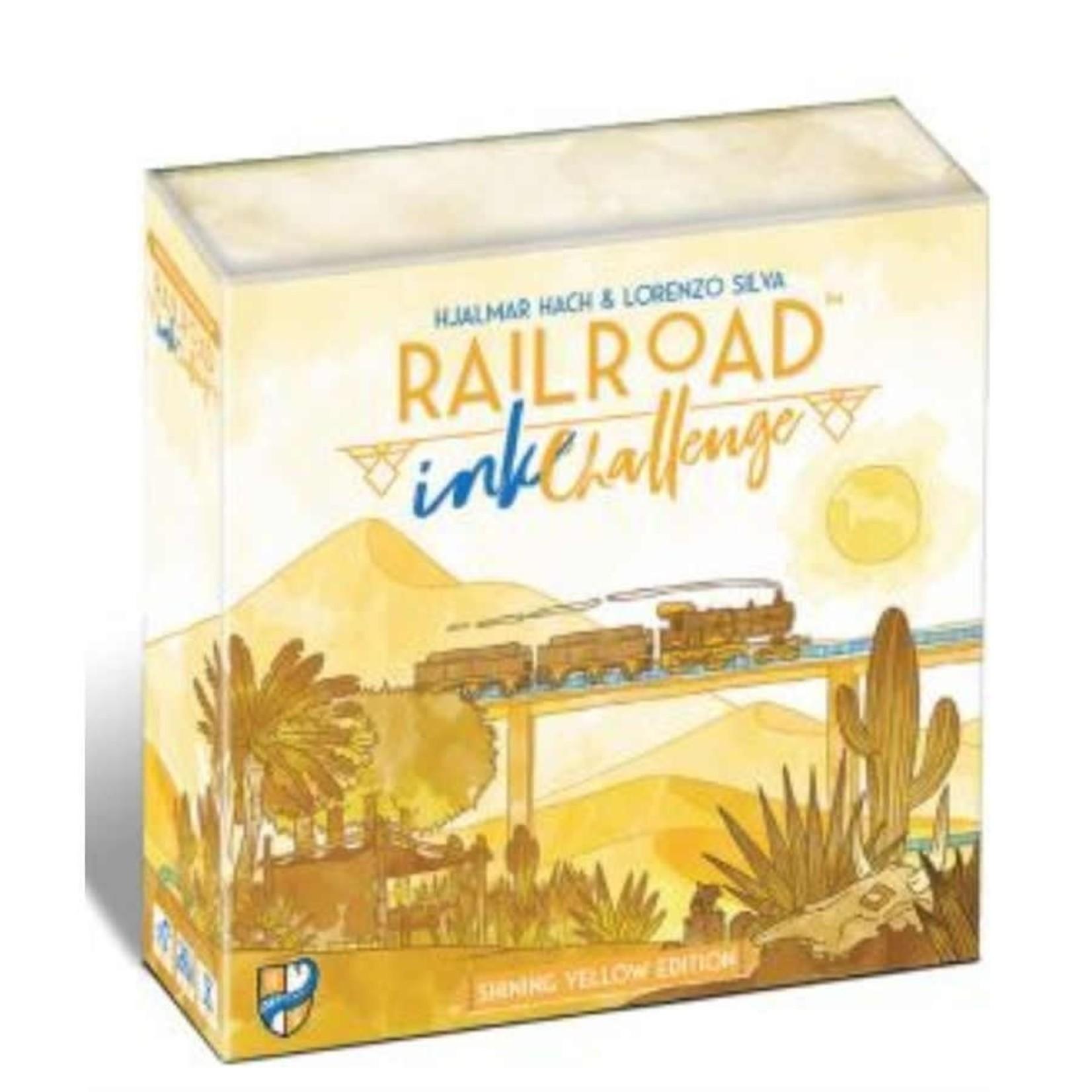 CMON Railroad Ink Challenge: Shining Yellow