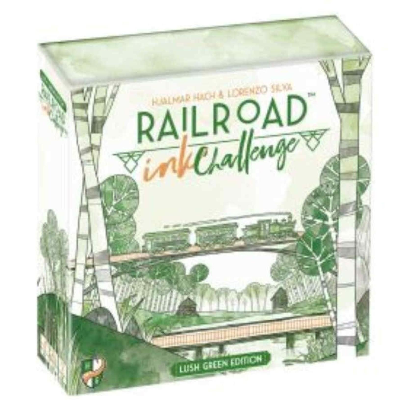 CMON Railroad Ink Challenge: Lush Green