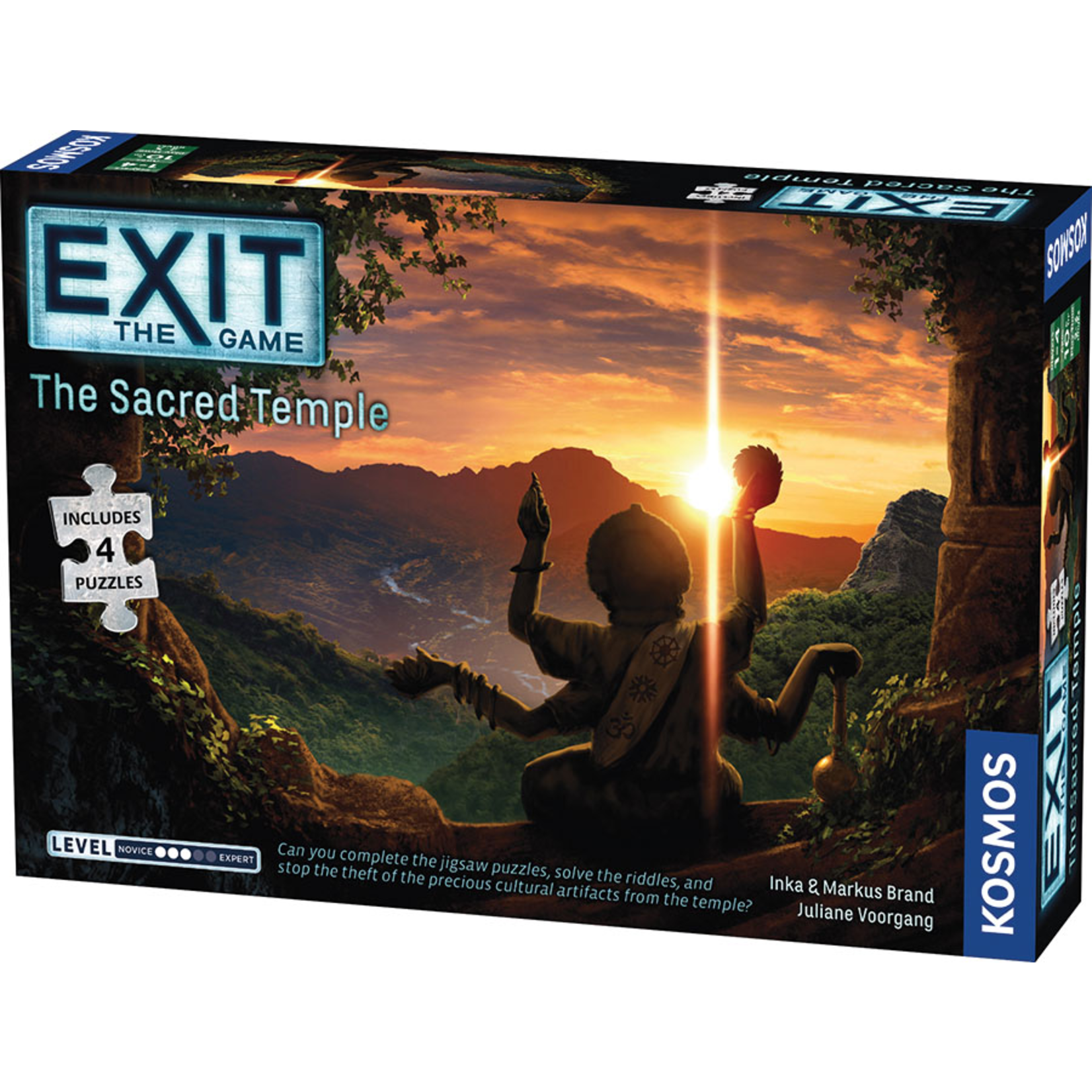 Kosmos EXIT: The Sacred Temple w/Puzzle