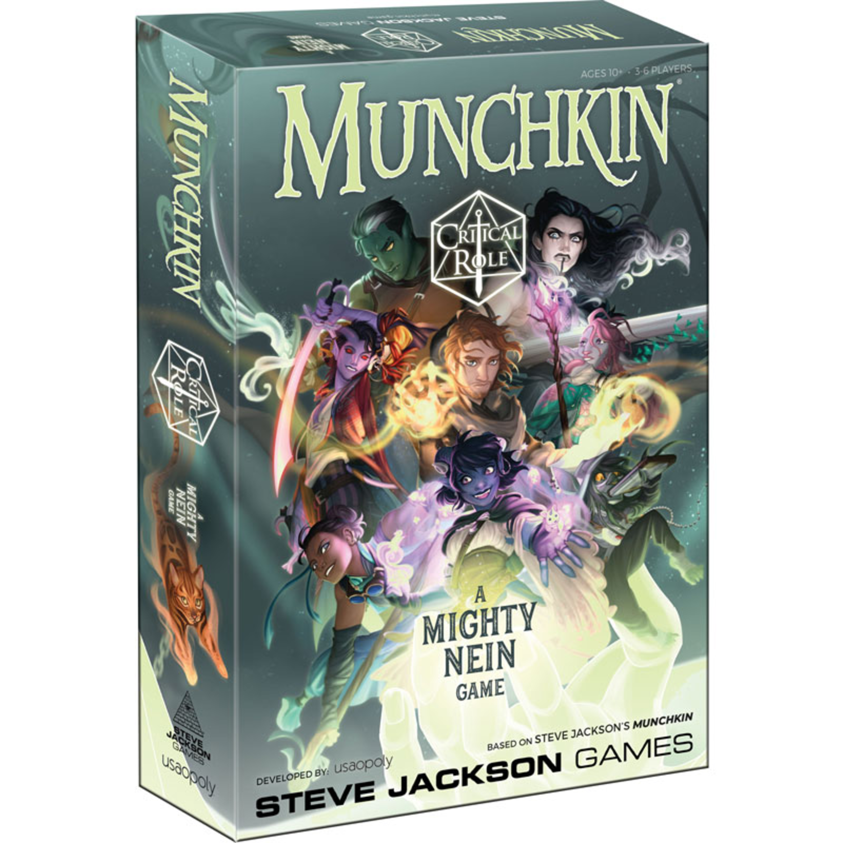 The Op Games   usaopoly Munchkin: Critical Role