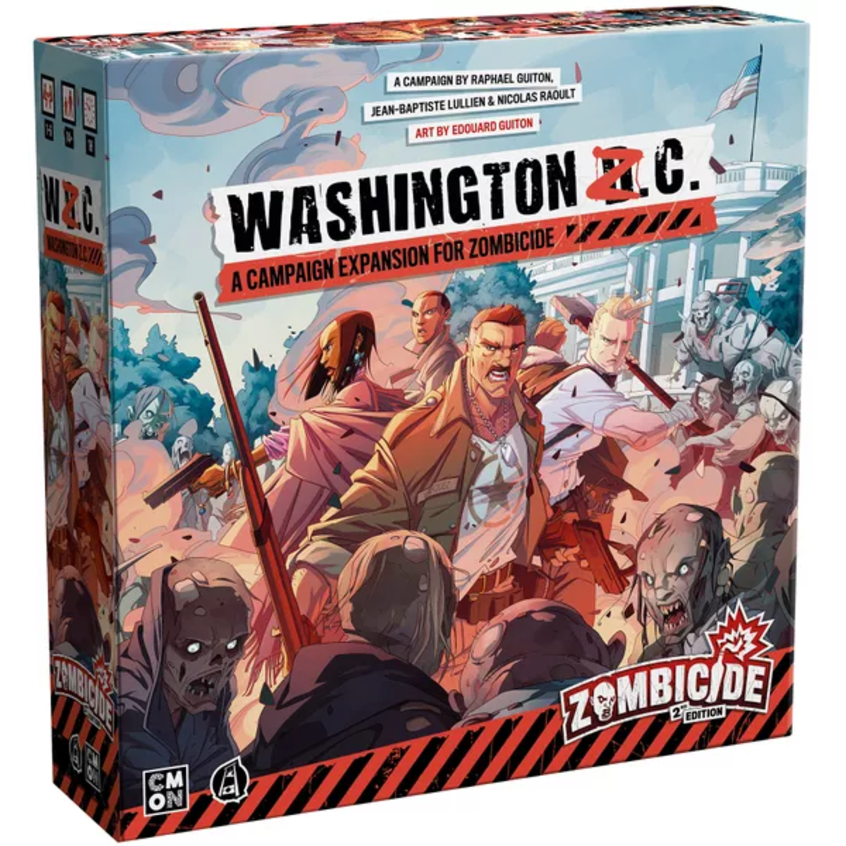 CMON Zombicide: Washington Z.C. Expansion