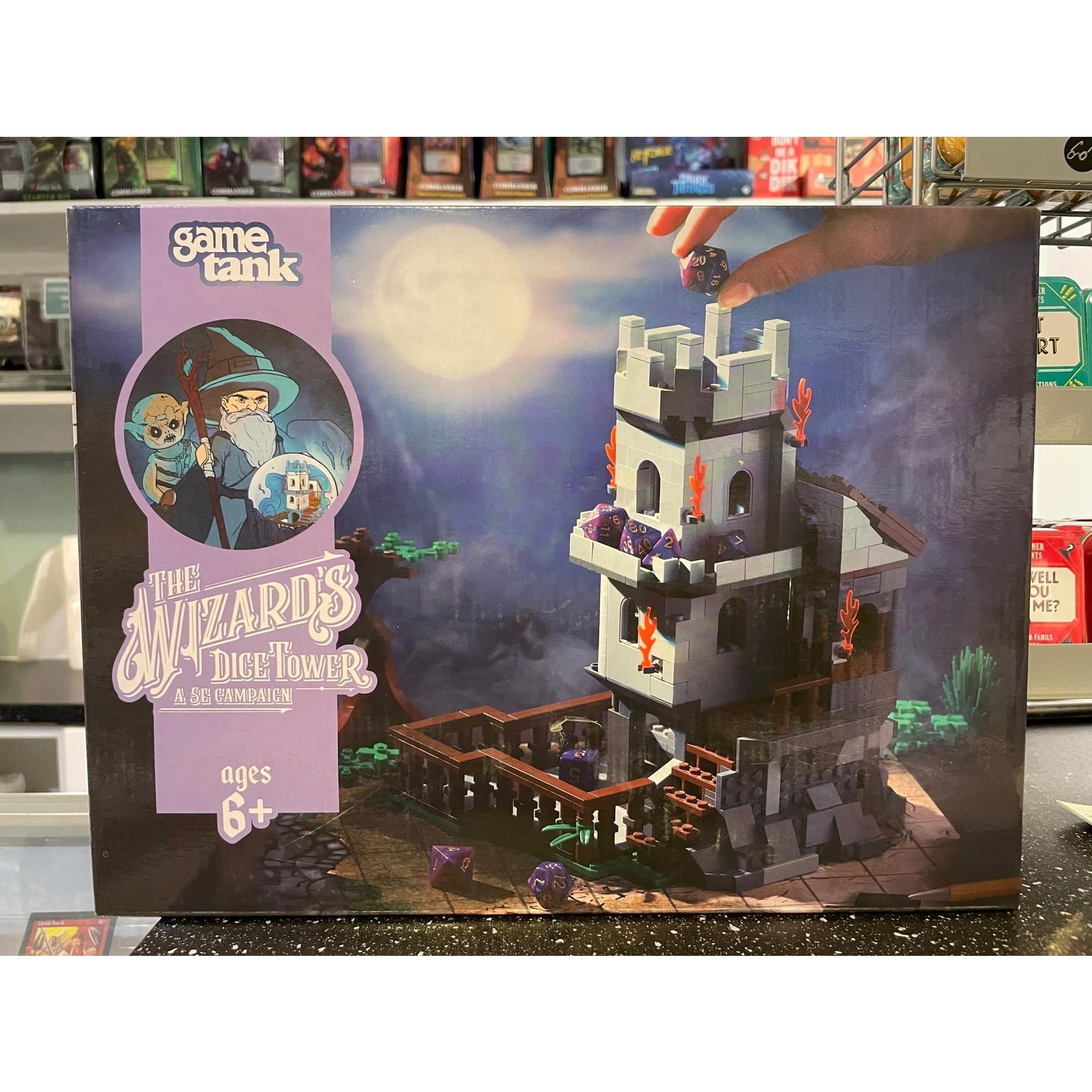 Game Tank The Wizard's Dice Tower (Brick Set & Campaign