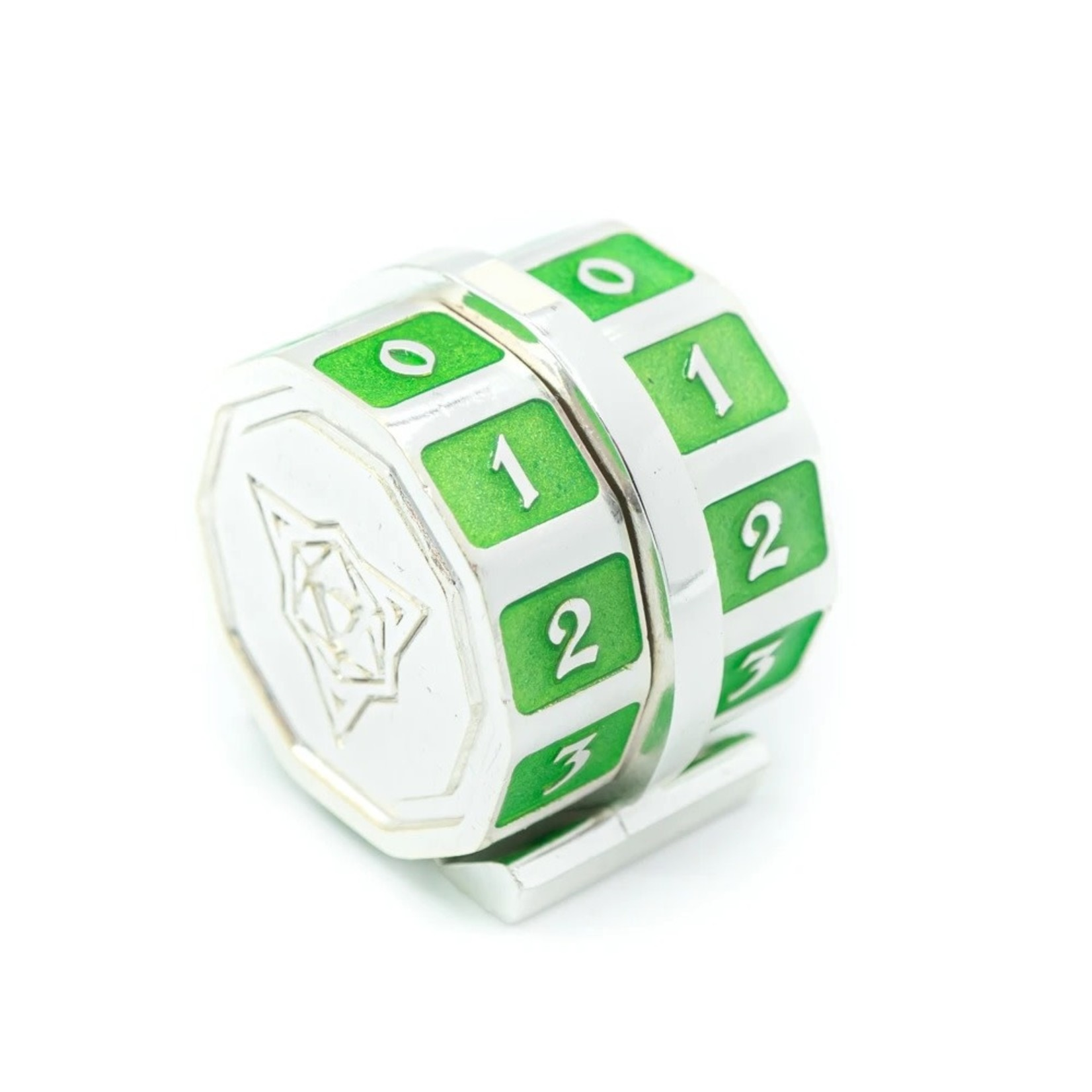 Die Hard Dice Die Hard Dice: Metal Magic the Gathering Life Counter (Green)