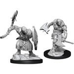 WizKids D&D Minis (unpainted): Warforged Barbarian Wave 14, 90235