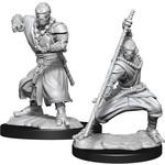 WizKids D&D Minis (unpainted): Warforged Monk Wave 14, 90234