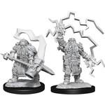 WizKids D&D Minis (unpainted): Dwarf Cleric (Male) Wave 14, 90222