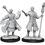 WizKids D&D Minis (unpainted): Half-Elf Wizard (Male) Wave 14, 90229