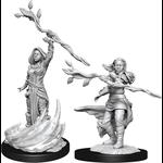 WizKids D&D Minis (unpainted): Human Druid (Female) Wave, 14 90223