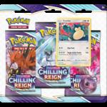 Pokémon Pokémon Chilling Reign 3-Booster Blister (Snorlax)