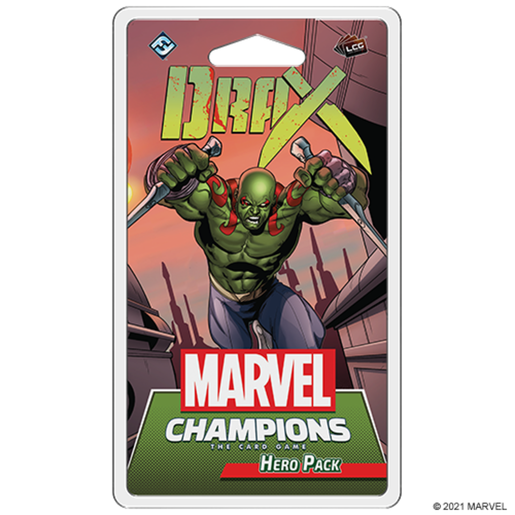 Fantasy Flight Games Marvel Champions: The Card Game - Drax Hero Pack