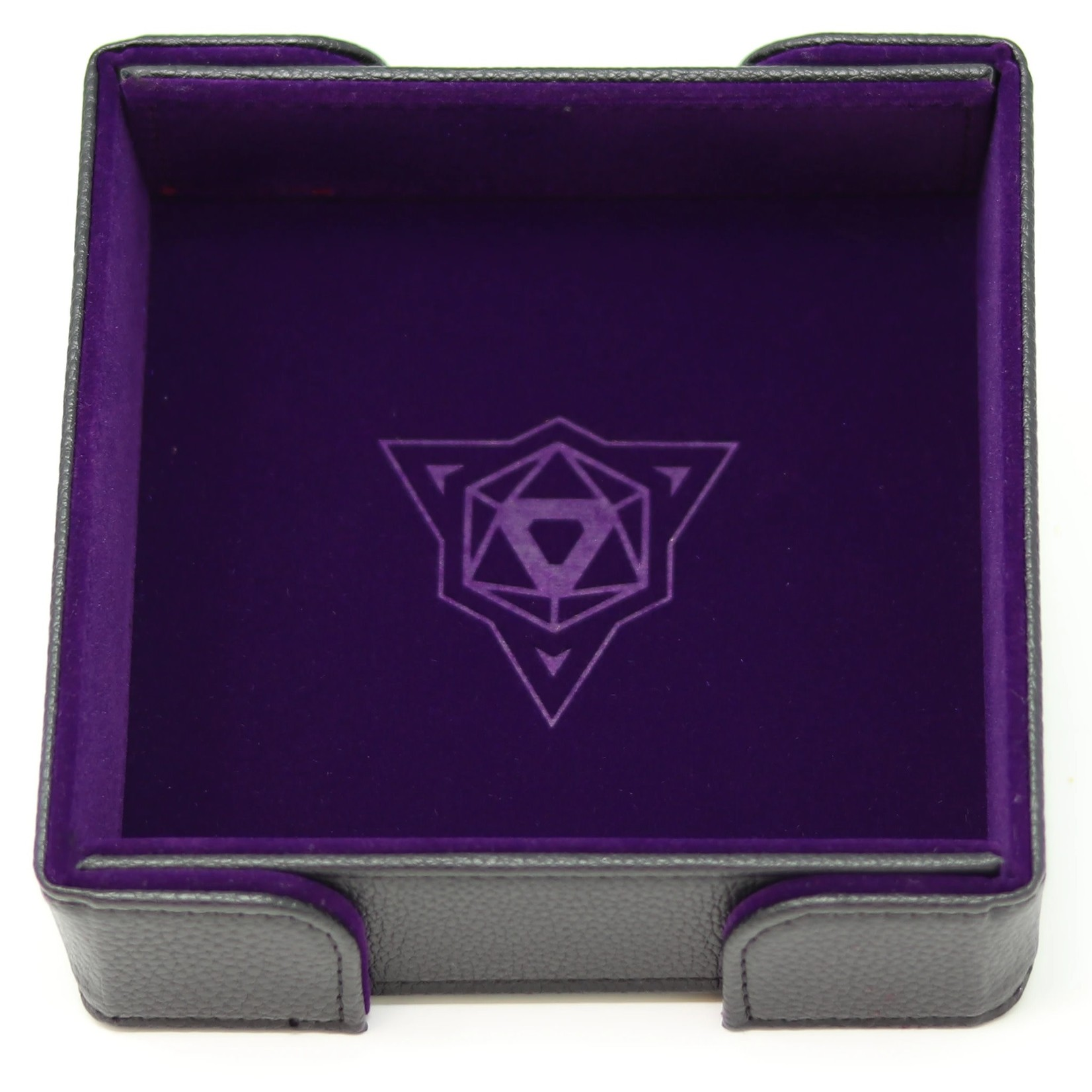 Die Hard Dice Dice Tray Magnetic Square Purple