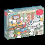 Workman Publishing Hidden Cows by Sandra Boynton  - 1000 Piece Jigsaw Puzzle