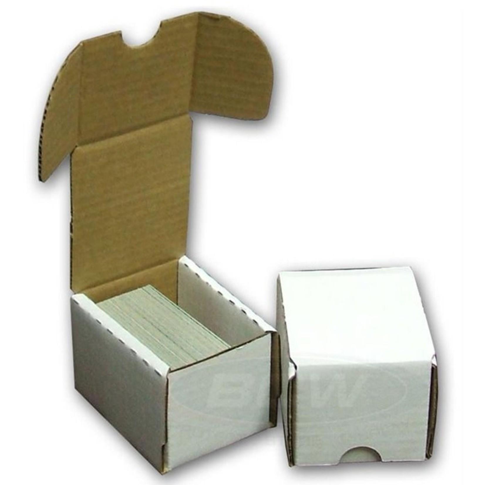 BCW Cardboard Box: 100 Ct