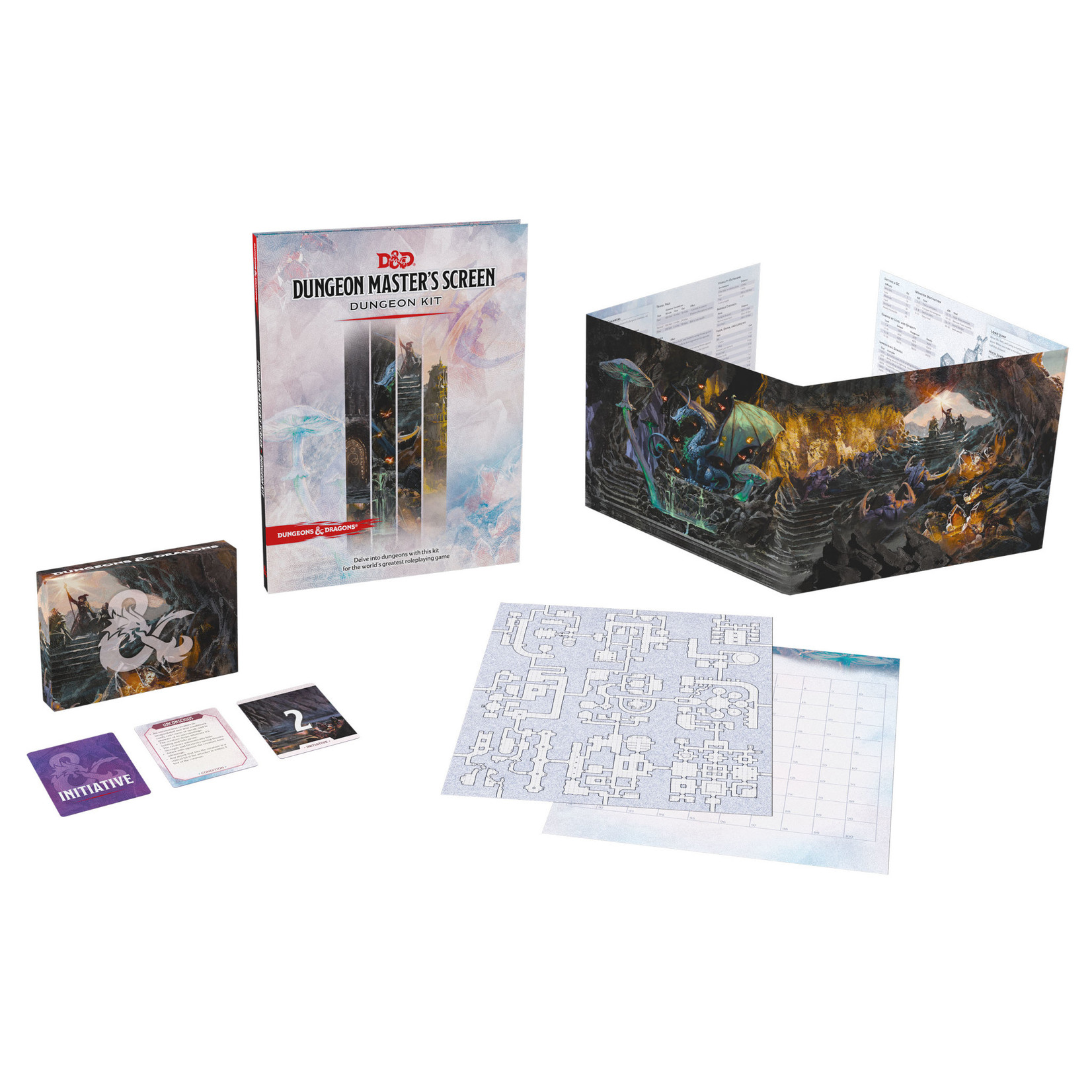 Dungeons & Dragons Dungeons & Dragons 5th Edition: Dungeon Master's Screen: Dungeon Kit